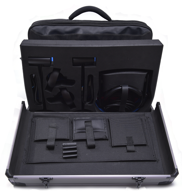 Oculus Rift CV1+laptop case with trolley